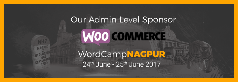 WooCommerce is Admin level supporter at WordCamp Nagpur
